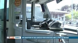 RTL INFO 13H : Un chauffeur de bus de Bayonne en état de mort cérébrale après une ...