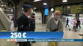 RTL INFO 19H : Coronavirus: le port du masque désormais obligatoire dans les gares...