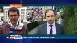 RTL INFO 13H : Plan de relance économique: Sophie Wilmès a débuté ses consultations