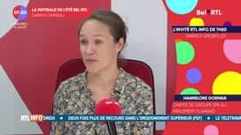 La matinale Bel RTL : Hannelore Goeman, cheffe  de groupe SPA