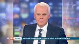 RTL INFO 19H : Coronavirus, retour des Belges: quelles régles pour les voyageurs?
