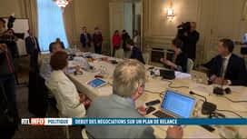 RTL INFO 19H : Plan de relance économique: Sophie Wilmès a débuté ses consultations