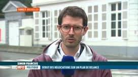 RTL INFO 19H : Coronavirus: le gouvernement prévoit un milliard € pour une deuxièm...