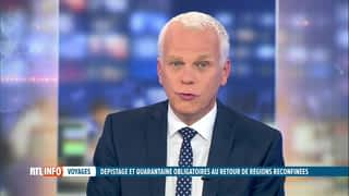 RTL INFO 19H : RTL INFO 19 heures (08/07/20)