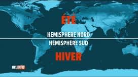 RTL INFO 13H : Coronavirus : les experts observent avec attention l'hémisphère sud