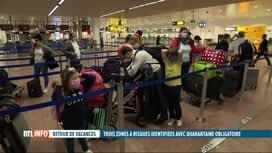 RTL INFO 19H : Coronavirus - Lisbonne, zone rouge : le sentiment des voyageurs