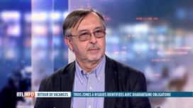 RTL INFO 19H : Coronavirus et vacances : Yves Van Laethem commente la liste des zones
