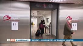 RTL INFO 19H : Coronavirus et vacances : les règles imposées pour les retours sont...