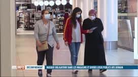 RTL INFO 19H : Port du masque obligatoire dans les lieux publics fermés dès demain