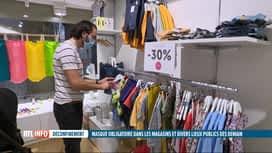 RTL INFO 19H : Masques obligatoires: des sanctions prévues pour les contrevenants