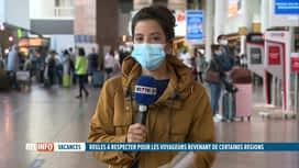 RTL INFO 13H : Retours de vacances : le point en direct de Brussels Airport