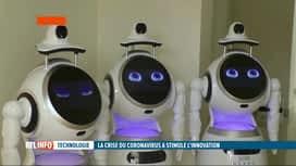 RTL INFO 13H : Le coronavirus suscite des idées innovantes