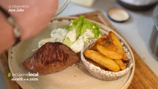 #jecuisinelocal : Steak frites façon Julien