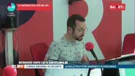 La matinale Bel RTL : RTL Info 8h du 27/07