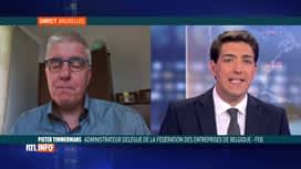 "RTL INFO 13H : Nouvelles mesures ""Coronavirus"": Pieter Timmermans (FEB) est en direct"