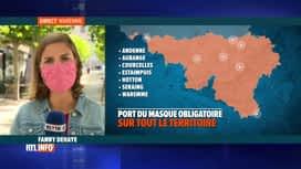 RTL INFO 13H : Coronavirus: 3 nouvelles communes wallonnes imposent le masque obli...