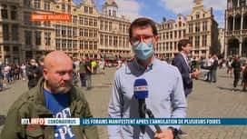 RTL INFO 13H : Coronavirus: la Foire du Midi est annulée et les forains sont en co...