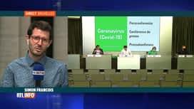 RTL INFO 13H : Coronavirus: des contaminations toujours en hausse en Belgique
