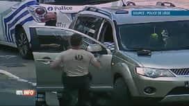 RTL INFO 13H : Liège : des policiers aident une mère à accoucher dans sa voiture