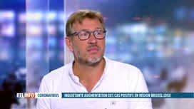 RTL INFO 13H : Coronavirus : Jean-Christophe Goffard revient sur le testing et le...