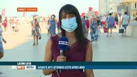 RTL INFO 13H : Chaleurt & coronavirus: consigne de limitation des sorties à la Mer