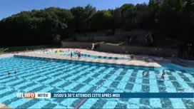 RTL INFO 13H : Chaleur & coronavirus: l'accès aux piscines limité pour cause de covid