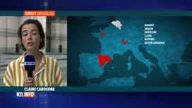 RTL INFO 19H : Coronavirus: la liste des zones oranges et rouges s'allonge