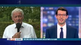 RTL INFO 19H : Le ministre François Bellot réagit au chaos d'hier en gare d'Ostende