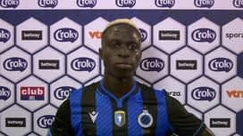 Croky Cup : 01/08 : Krépin Diatta (FC Bruges)