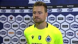 Croky Cup : 01/08 : Simon Mignolet (FC Bruges)