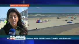 RTL INFO 13H : Coronavirus: le point sur les zones oranges frontalières de la Belg...