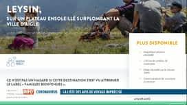 RTL INFO 19H : Coronavirus: Intersoc supprime deux destinations de vacances en Suisse