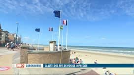 RTL INFO 19H : Coronavirus: vigilance dans les zones oranges frontalières de la Be...