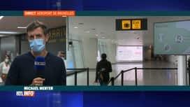 RTL INFO 13H : Coronavirus et vacances: Michael Menten est en direct de Brussels A...