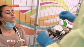 RTL INFO 19H : Coronavirus: qui peut se faire dépister aujourd'hui et dans quelles...
