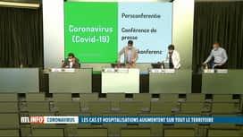RTL INFO 19H : Le retour du coronavirus s'étend à tout le pays, et pas seulement à...