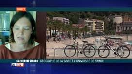 RTL INFO 19H : Coronavirus: l'éclairage de Catherine Linard, géographe de la santé...