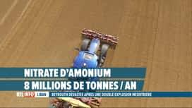 RTL INFO 13H : Double explosion à Beyrouth: le nitrate d'amonium à l'origine du drame