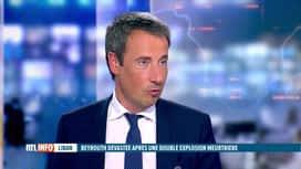RTL INFO 13H : Double explosion à Beyrouth: réaction du ministre Goffin en plateau