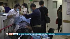 RTL INFO 19H : Double explosion à Beyrouth: afflux de blessés dans les hôpitaux sa...