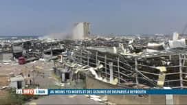 RTL INFO 19H : Double explosion à Beyrouth: toute une partie de la ville est dévastée