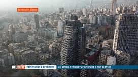 RTL INFO 13H : Double explosion à Beyrouth: hausse du bilan à 137 morts et 5000 bl...