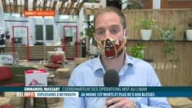 RTL INFO 13H : Double explosion à Beyrouth: réaction du coordinateur de MSF au Liban