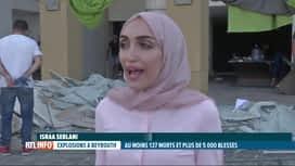 RTL INFO 13H : Double explosion à Beyrouth: témoignage de la mariée et de son mari