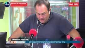 RTL INFO sur Bel RTL : RTL Info 13h du 06/08