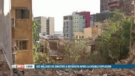 RTL INFO 19H : Double explosion à Beyrouth: le bilan passe à 137 morts et 5000 ble...