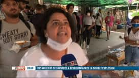 RTL INFO 19H : Double explosion à Beyrouth: le choc a fait place à la colère des L...