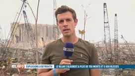 RTL INFO 13H : Double explosion à Beyrouth: les dernières infos sur place