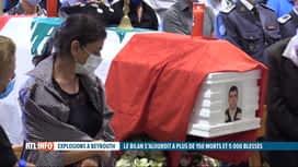 RTL INFO 13H : Double explosion à Beyrouth: le bilan passe à au moins 154 morts