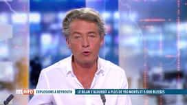 RTL INFO 13H : Double explosion à Beyrouth: Sébastien Dechamps est notre invité